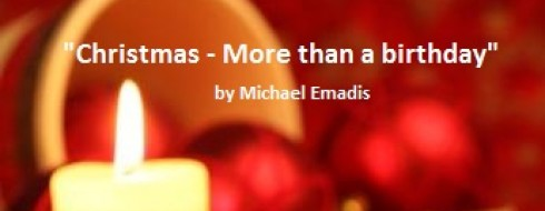 """Christmas Day Ministry – """"More than a Birthday"""""""