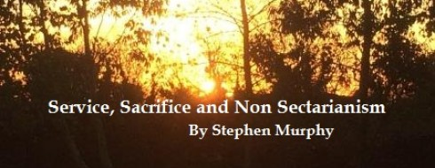 """Ministry 19th February – """"Service, Sacrifice and Non Sectarianism"""
