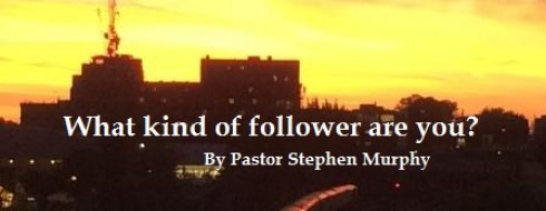 """Ministry 26th of February  – """"What kind of follower are you?"""""""